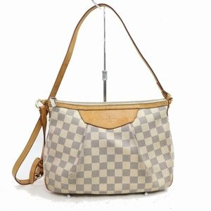 Louis Vuitton Siracusa N41113 Cream 870786
